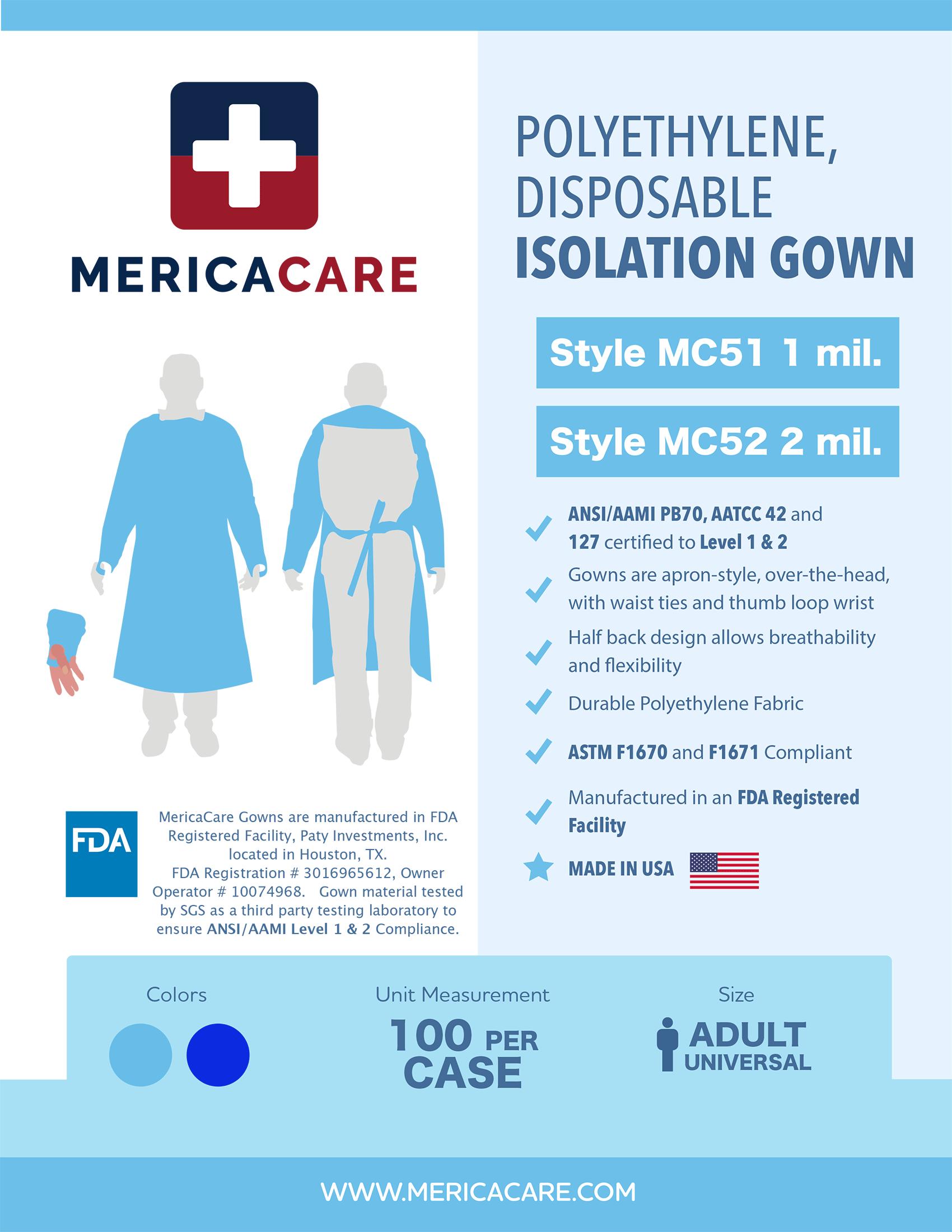 MericaCare Product